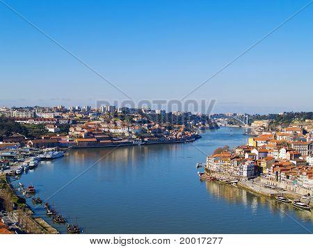 Porto and villa nova di Gaya, Portugal