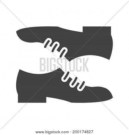 Shoes, feet, leather icon vector image. Can also be used for Mens Accessories. Suitable for use on web apps, mobile apps and print media.
