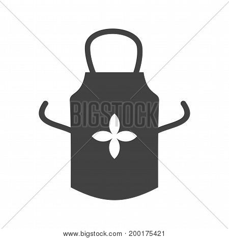 Kitchen, apron, cover icon vector image. Can also be used for Cleaning Services. Suitable for use on web apps, mobile apps and print media.