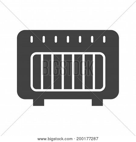 Heater, gas, natural icon vector image. Can also be used for Climatic Equipment. Suitable for mobile apps, web apps and print media.