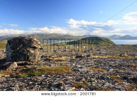 Landschaft im Norden Norwegens