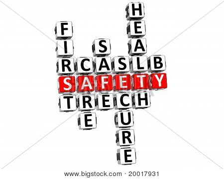 Safety First Crossword