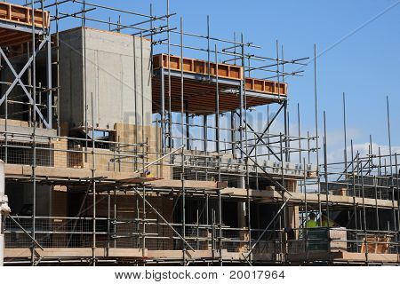 Scaffolding And Building Work.