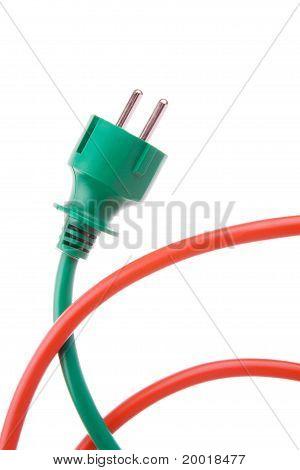 Power plug to power cord