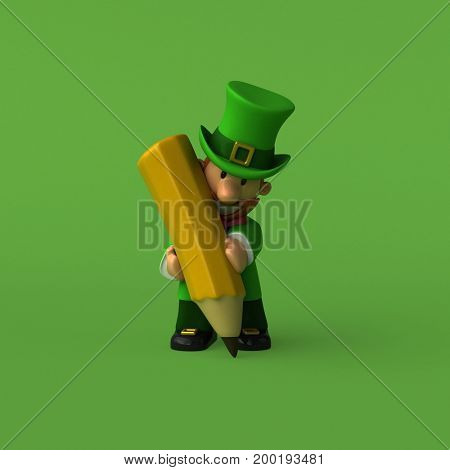 Leprechaun - 3D Illustration