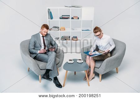 Colleagues On Business Meeting