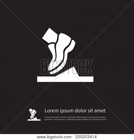 Running Vector Element Can Be Used For Shoelace, Running, Shoes Design Concept.  Isolated Shoelace Icon.