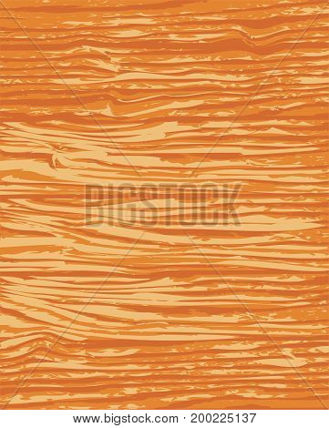 Wooden plank brown texture background, Vector illustration