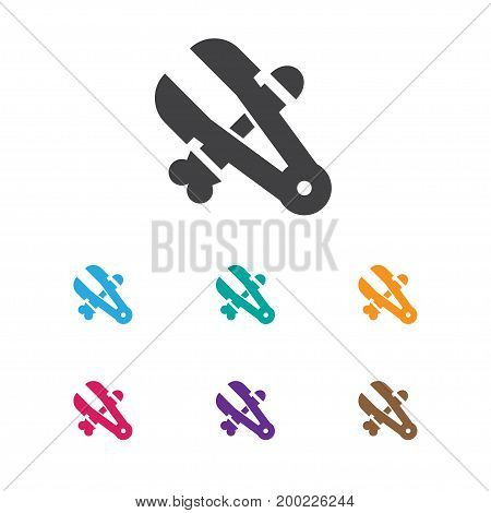 Vector Illustration Of Tools Symbol On Clamp Icon