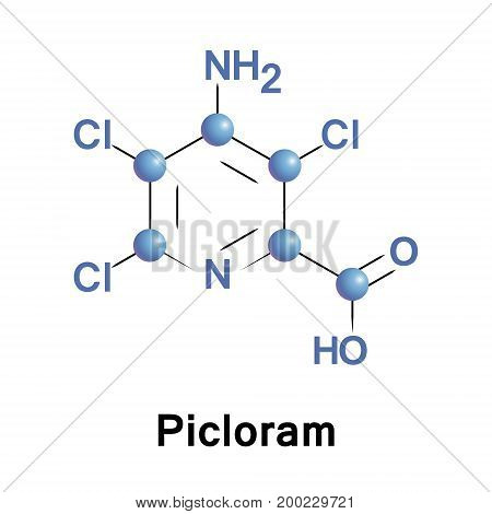 Picloram is a systemic herbicide used for general woody plant control.