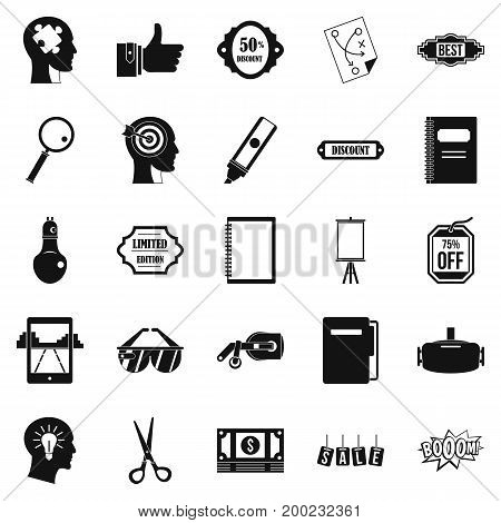 Mediation icons set. Simple set of 25 mediation vector icons for web isolated on white background