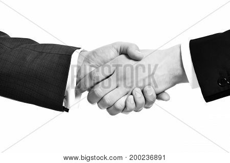 Business Partnership Meeting, Businessman Handshake