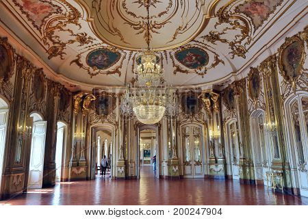 Palace Of Queluz In Portugal