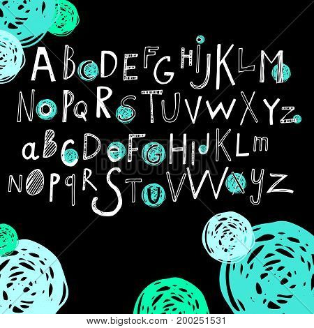 letter font alphabet vector text abc design sign symbol typography calligraphy