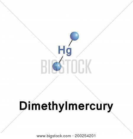 Dimethylmercury is an organomercury compound. This colorless liquid is one of the strongest known neurotoxins