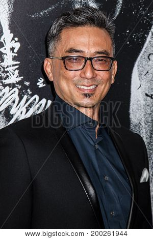 NEW YORK, NY - AUGUST 17: Actor Paul Nakauchi attends the 'Death Note' New York premiere at AMC Loews Lincoln Square 13 theater on August 17, 2017 in New York City.