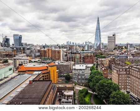 London City Skyline (hdr)