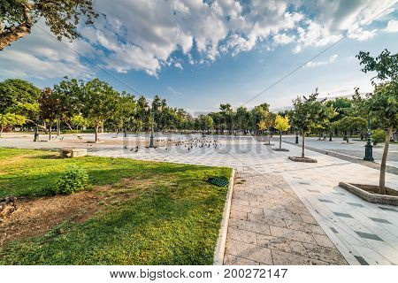 Aristotelous Square And Park, At Thessaloniki, Greece