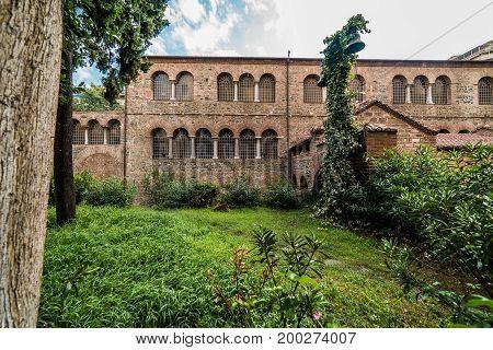 Acheiropoietos, 5Th-century Byzantine Church At  Thessaloniki, Greece