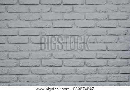 Brick Wall Gray Paint Background Or Texture