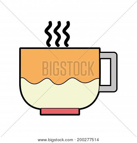 tasty espresso coffe cup vector illustration icon
