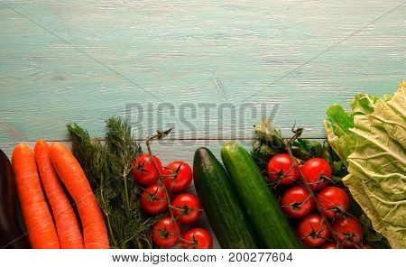 Fresh Vegetables.   Healthy Food
