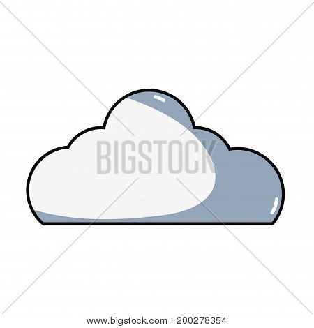 nice cloud natural weather day vector illustration