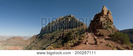 South Kaibob Trail Of Grand Canyon National Park, Az.