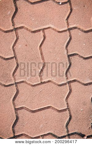 texture paving stone blocks footpath background classic style