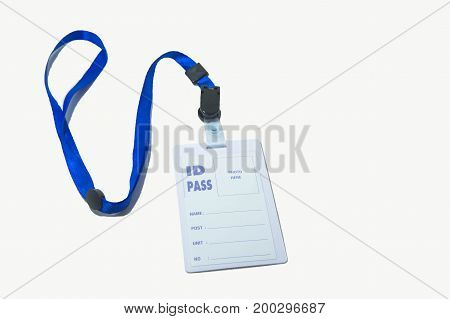 necklace ID Pass , label State card