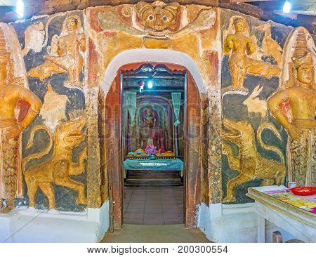 Entrance To Image House Of Yudaganawa Temple