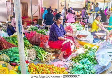 The Market Stall In Wellawaya