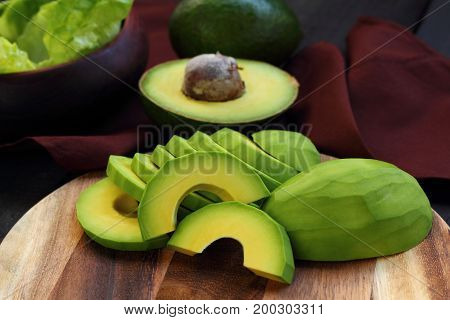 Avocado is fruit for health and diet.