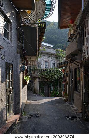 An Empty Alley In Jiu Fen