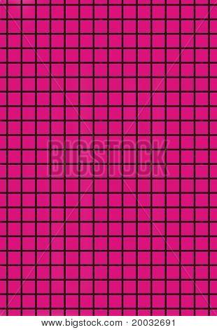 Black grid on purple background