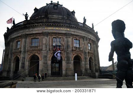 Bode Museum Is One Of The Group Of Museums On The Museum Island For German And Foreigner Travelers V