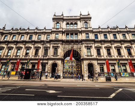 Burlington House In London (hdr)