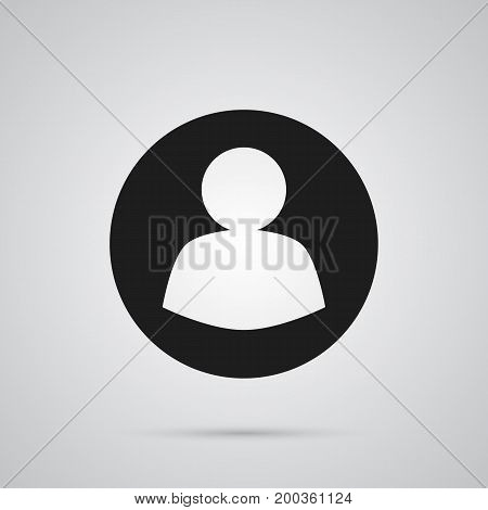 Vector Guest  Element In Trendy Style.  Isolated User Icon Symbol On Clean Background.
