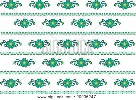 geometric repeating pattern on a homogeneous light background