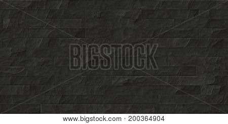 Dark Gray Seamless Stone Cladding Texture