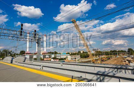Construction Of An Automobile Bridge