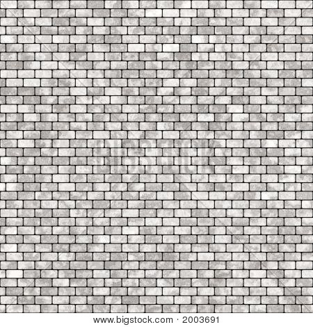 Gray Ceramic Tile Wall