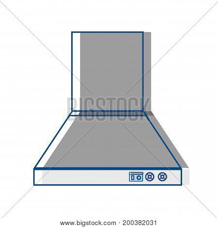 technology odor extractor kitchen utensil vector illustration