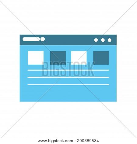webside page and global technology element vector illustration