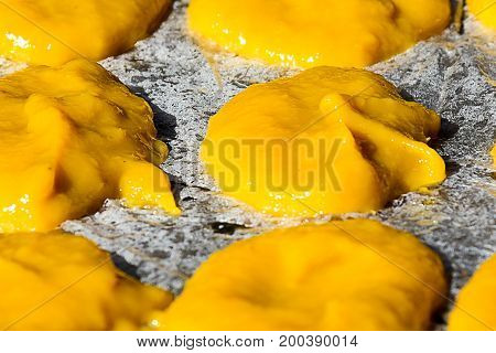 thai, dessert, desserts, traditional, food, sweet, style, colorful, delicious, thailand, yellow, beautiful, sugar, green, asian, snack, cuisine, background, white, color, gold, fresh, egg, culture, tropical, sweets, golden, handmade, eat, asia, tasty, ora