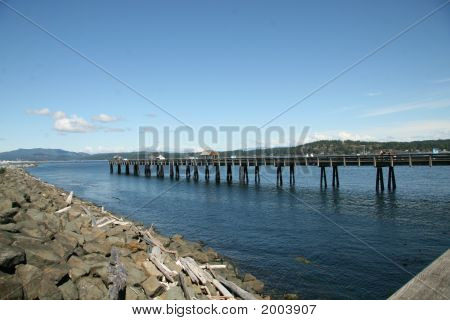 Dock At Campbell River