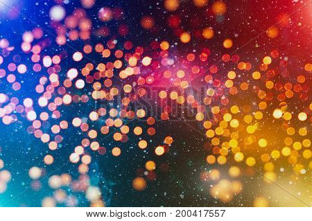 Abstract Christmas Light Abstract Background.can Be Used Abstract Christmas Background And Christmas