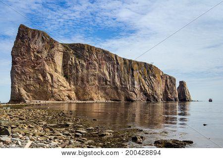Rocher Perce Pierced Rock natural stone Quebec Canada