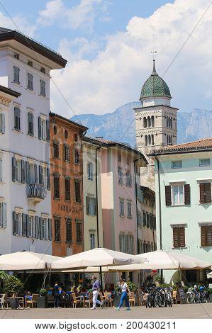 Tower Of Santa Maria Maggiore, Trento, Italy