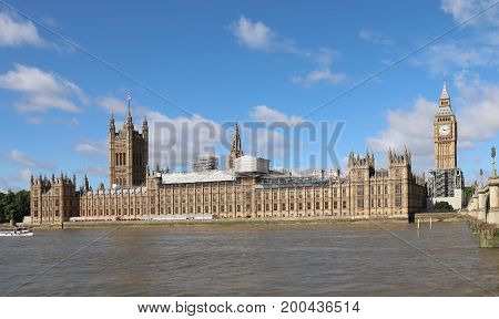 20th August 2017  London. Theresa May has stepped into the row surrounding plans to silence  Big Ben for 4 years as restoration work begins on The Palace of Westminster. Big Ben will fall silent tomorrow for the first time in 157 years.